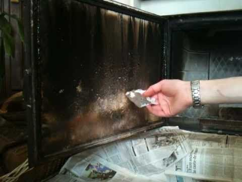Comment nettoyer un insert de cheminée?