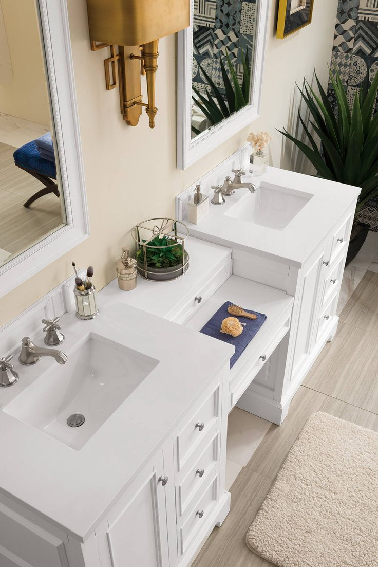 """De Soto 82"""" Double Bathroom Vanity in 2020 Double sink"""
