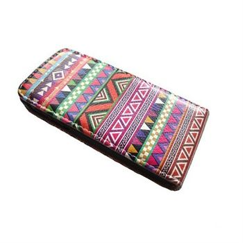 Flip Læder Taske til iPhone 5S/5