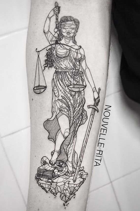 25 best ideas about justice tattoo on pinterest lady justice nemesis tattoo and libra tattoo. Black Bedroom Furniture Sets. Home Design Ideas