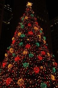 The big Chicago Christmas Tree