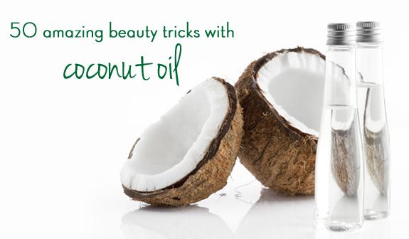 50 amazing beauty tricks with coconut oil