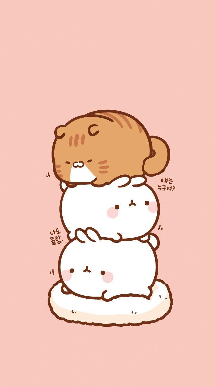 Aestetic Wallpaper In 2020 Cute Cartoon Wallpapers Cute Anime Wallpaper Cute Kawaii Animals