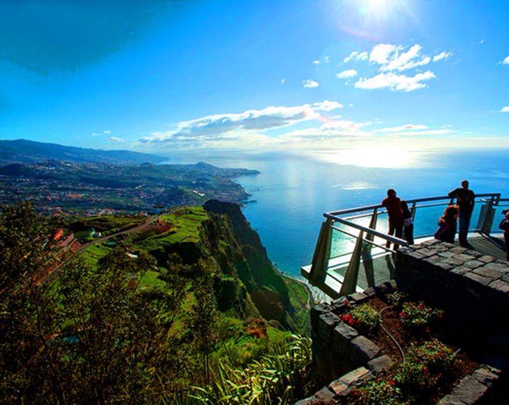 Cabo Girão. Ilha da Madeira, Portugal