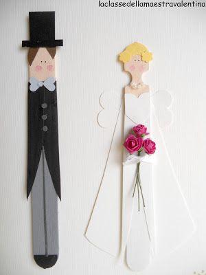La classe della maestra Valentina: BIGLIETTI PER MATRIMONIO