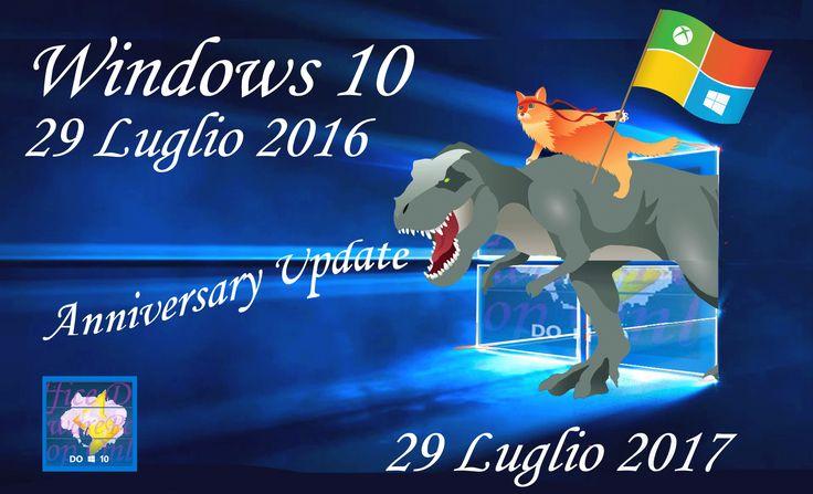 #Microsoft supporta solo le ultime due versioni di #Windows 10; per questo motivo da maggio 2017 non supporterà più la prima versione di Windows 10. Inizialmente previsto a marzo, il termine del supporto è stato posticipato di altri due mesi.  Link articolo: http://hardwarepcjenny.com/network/blog-news/prolungata-la-vita-della-prima-versione-di-windows-10/