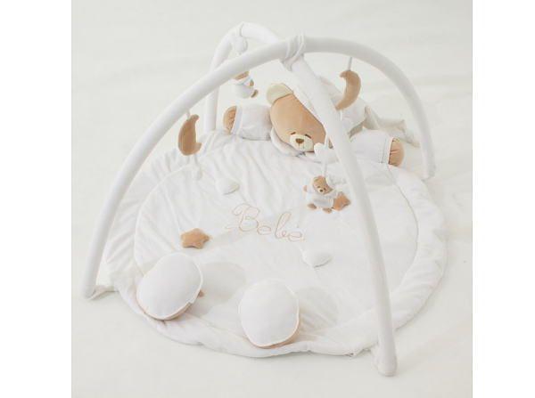 田丸麻紀さんブログ紹介【nanan(ナナン)クマさんのベビージム】が超可愛い!おもわずニッコリのベビーマット『nanan(ナナン)TATO/タット クマさんのベビージム / プレイマット / ベビーマット』