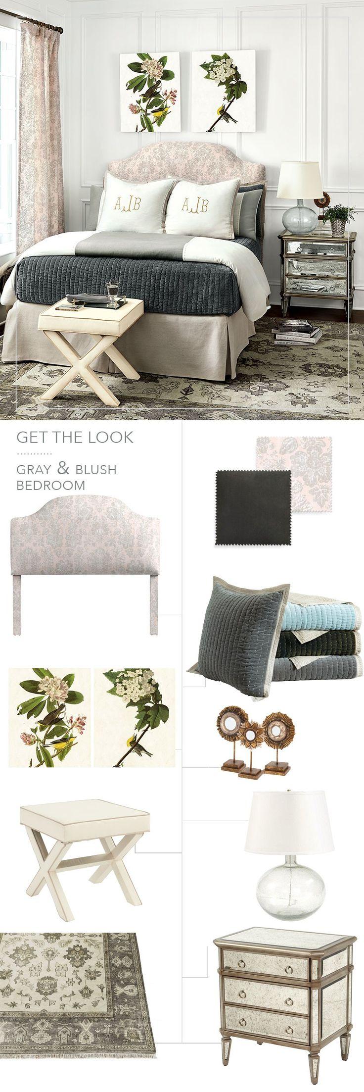 678 best bedroom images on pinterest guest bedrooms ballard blush and gray bedroom from ballard designs winter 2017 catalog