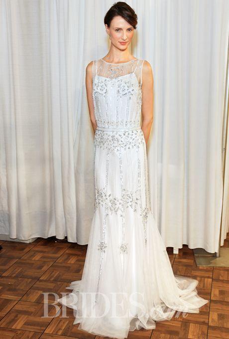 Brides.com: Alma Novia - Spring 2015. Wedding dress by Alma Novia