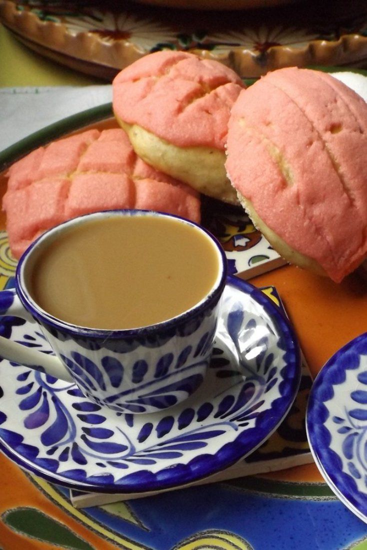 Conchas/Pan Dulce (Mexican Sweet Bread)