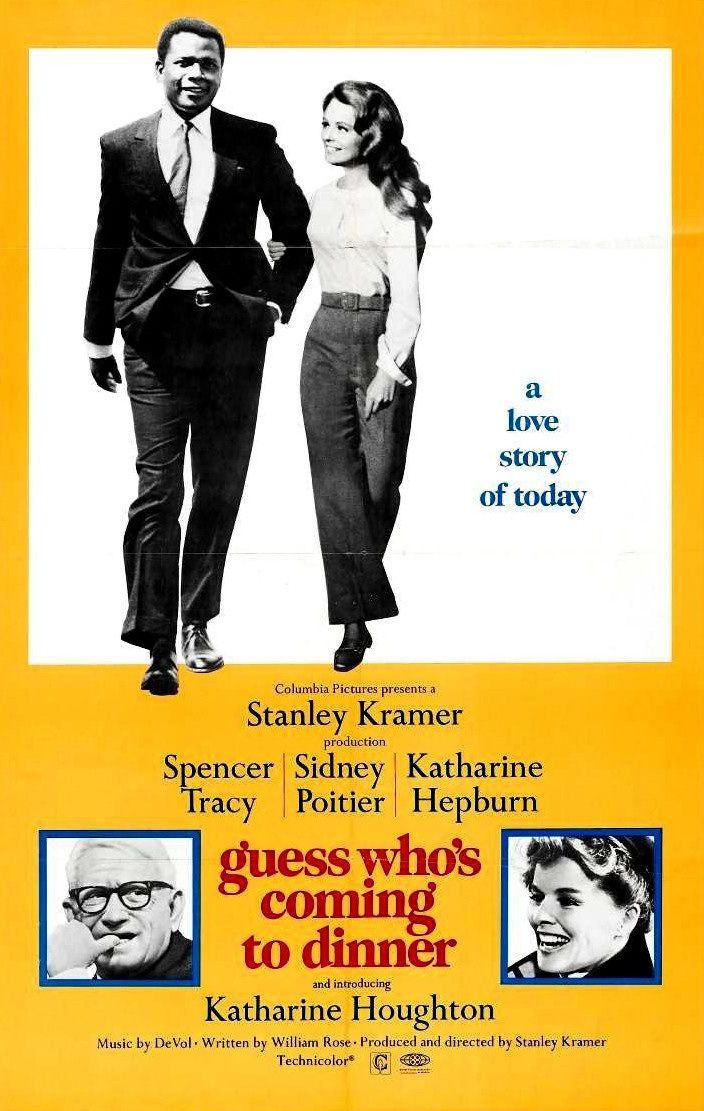 Guess Whos Coming to Dinner (1967) spencer #tracy sidney #poitier katharine #hepburn