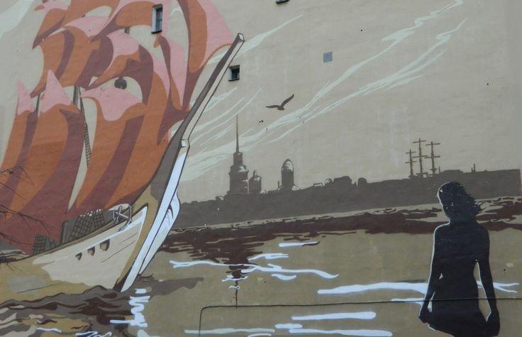 Во дворе на Лиговском проспекте живет Ассоль, которая наконец дождалась корабля с алыми парусами. Парусник плывет к девушке по Неве: на...