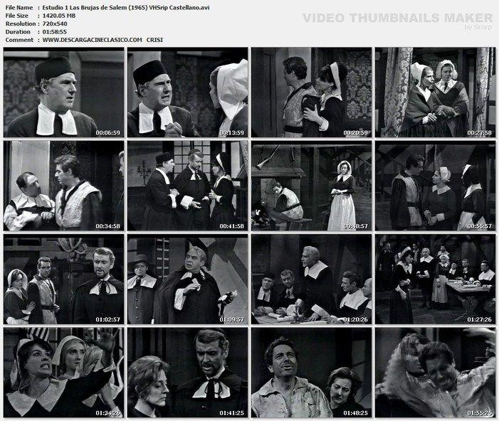 Teatro Estudio 1: Las Brujas de Salem (1965)