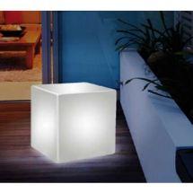 Valaisin LED kube. 43 x 43 x 43 cm. - vallaste.fi