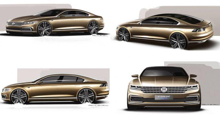 OFFICIAL: Volkswagen C Coupe GTE Concept