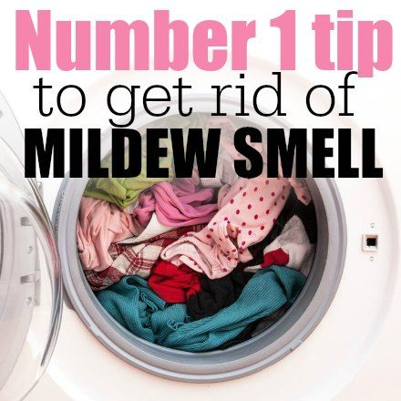 how to get rid of mildew smell square