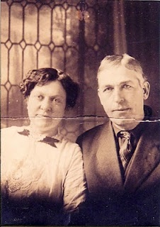 Edna Metcalf and Michael Melvin - Wedding photo