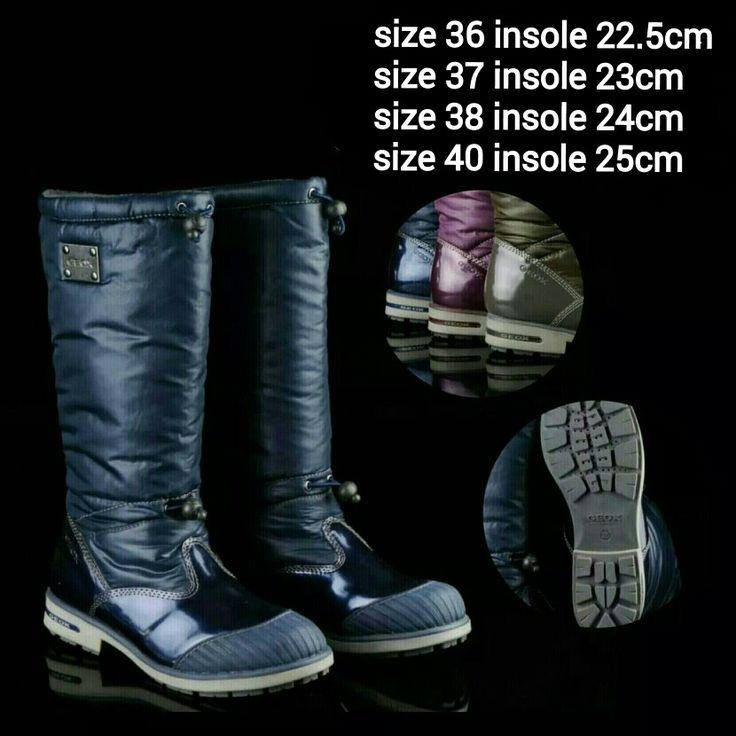 READY STOCK KIDS/WOMAN WINTER BOOTS KODE : MERCY BLUE Size 36,37,38,40 PRICE : Rp.450.000,- AVAILABLE SIZE (insole) : - Size 36 (22,5cm) - Size 37 (23cm) - Size 38 (24cm) - Size 40 (25cm)  Material : Parachute mix Glossy leather, Dalam bahan wol hangat, Sol karet lentur. Ada 2 tali pengencang di bagian lekukan kaki dan pada bagian atas betis. Nyaman dan tidak berat utk anak-anak maupun dewasa :)   Insole = panjang sol dalam. Ukurlah panjang telapak kaki anak, beri jarak minimal 1,5cm dari…