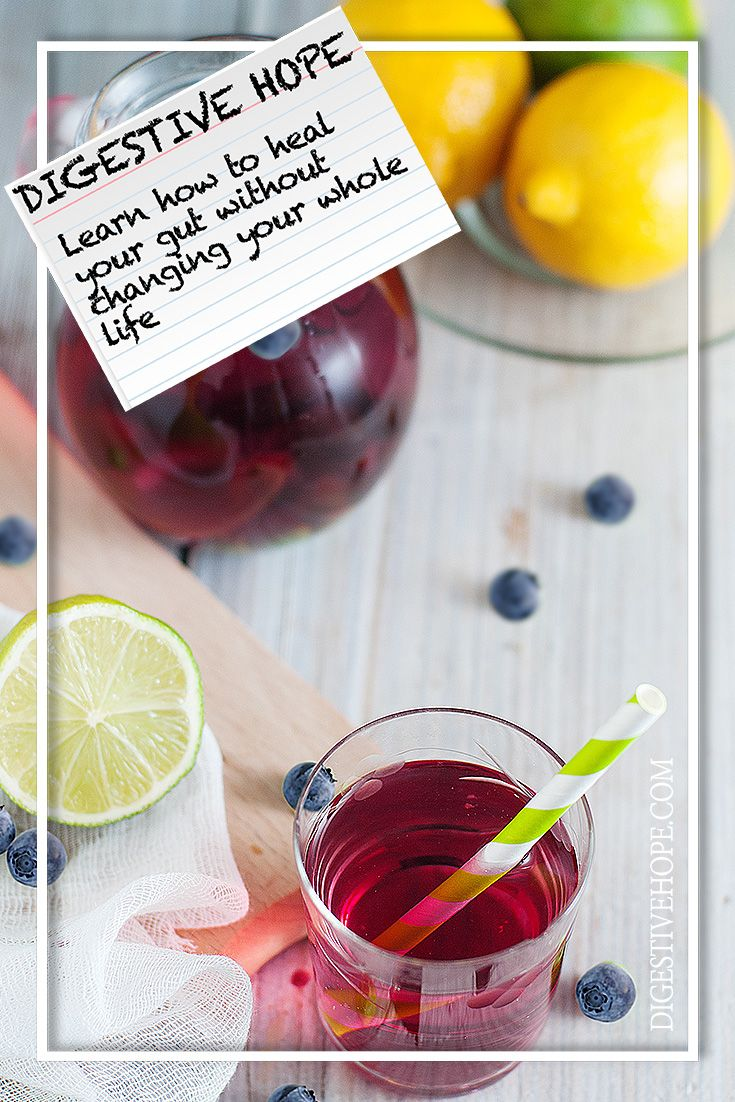 GUT HEALTH 101 -   Lemon Lime and Blueberry Kefir from www.digestivehope.com