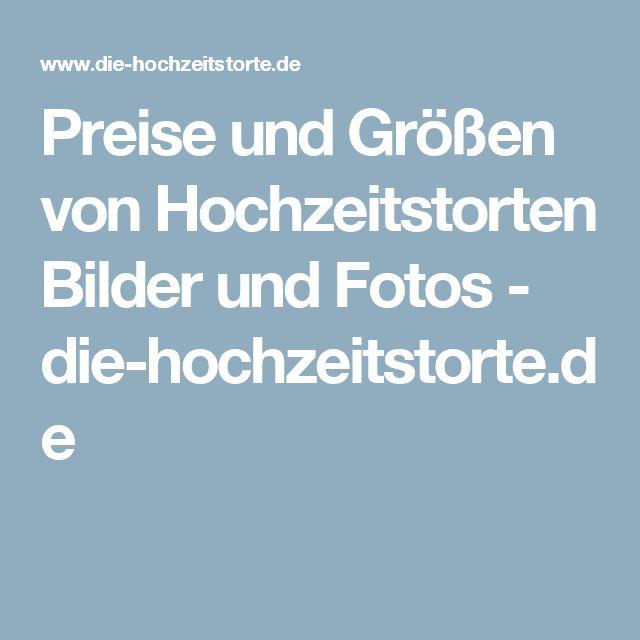 Preise und Größen von Hochzeitstorten Bilder und Fotos - die-hochzeitstorte.de