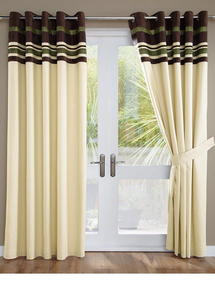 Hamilton Embellished Eyelet Curtains | very.co.uk
