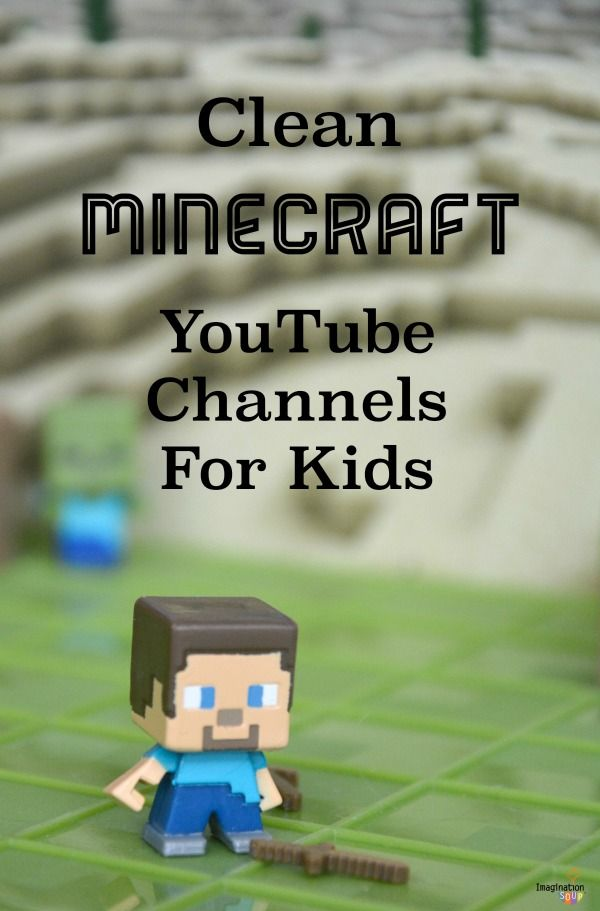 7 Kid Favorite, Clean Minecraft YouTube Channels