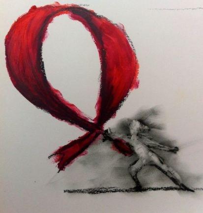 Aids ribbon @Anatinus