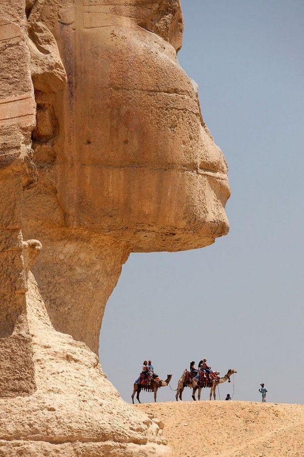 La Esfinge de Guiza, Egipto
