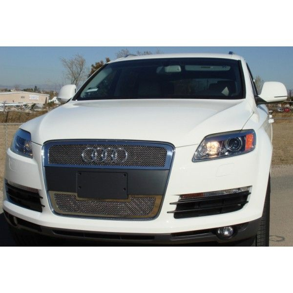 T-Rex 54989 | 2008 Audi Q7 Polished Upper Class Series Mesh Grilles for SUV/Truck/Crossover