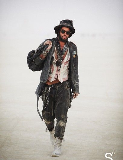 Street Style You Have To See: First-Ever Burning Man Edition | StyleCaster