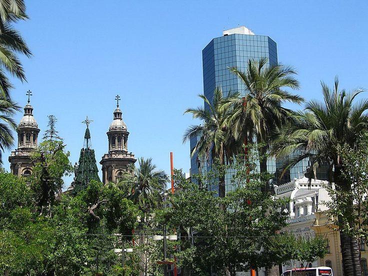 plaza de armas. chile