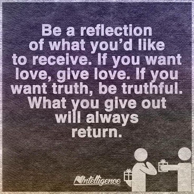 Be who you want to be with.