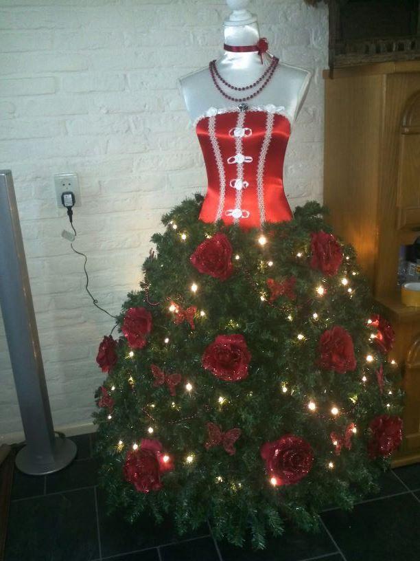 hier als kerstboom