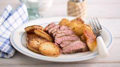 Утиные грудки в перце с картофелем и яблоками. Пошаговый рецепт с фото, удобный поиск рецептов на Gastronom.ru