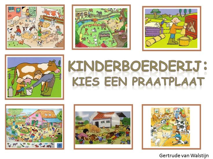 7 verschillende praatplaten voor het digibord over de kinderboerderij. http://leermiddel.digischool.nl/po/leermiddel/f73cd71f720a364e3703e2d780afd01e?s=2.3