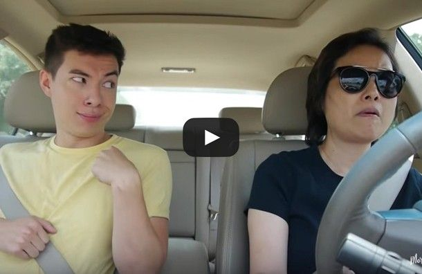 She keeps a pretty straight face for everything that is happening. She must be used to it. Enjoy this hilarious video. via: Moretoki