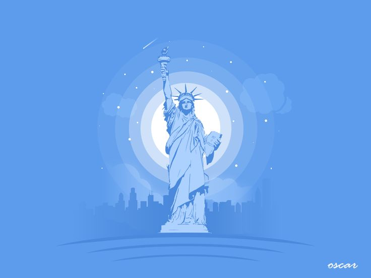 USA The Statue of Liberty by OSCAR