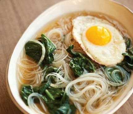 Pho Real: Oh hi pho, even you look (and taste!) better with a fried egg.  .
