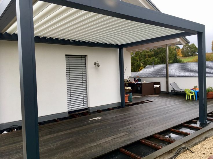 ber ideen zu pergola aluminium auf pinterest carport alu pergola bioclimatique und. Black Bedroom Furniture Sets. Home Design Ideas