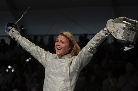Olha Harlan wins Grand Prix in fencing in South Korea