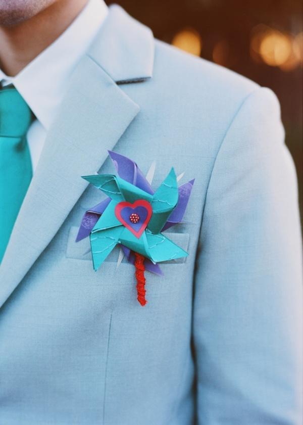 light blue groom