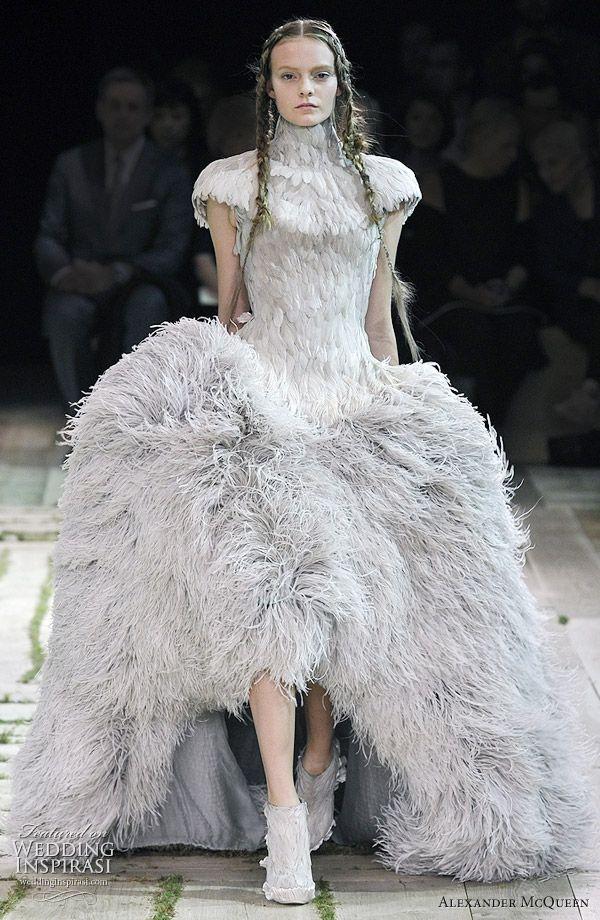 Alexander McQueen Spring Summer 2011 Mcqueen DressesAlexander CoutureWedding