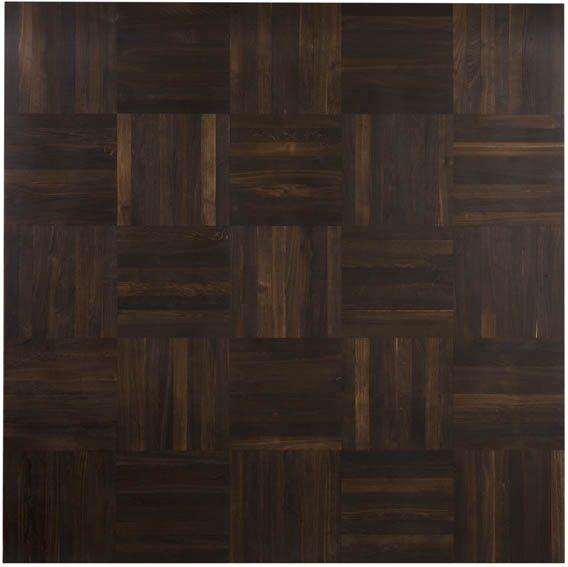 Junckers Solid Black Oak Single Stave Blocks In Square Basket Pattern Commercial Flooringherringbone Floorsparquet Flooringsolid