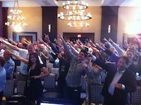 SEAT attendees BOLTING to start Sean's panel in Boston in 2012
