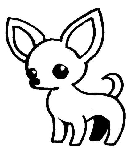 Lot of three chihuahua stamps variety ebay crafts for Chihuahua coloring pages free