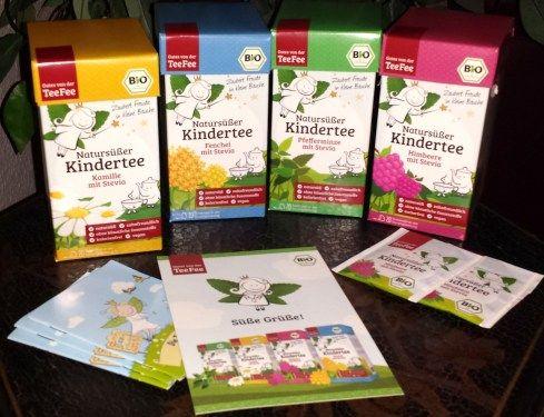 Bei der TeeFee findet Ihr natursüße, zuckerfreie Kindertees mit Stevia. TeeFee - Kindertees: Diese TeeFee-Tees für Kinder enthalten zum Süßen der Tees nur die Süßkraft der Stevia-Pflanze. Sie sind ...