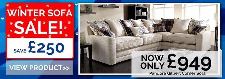 Pandora Gilbert Corner Sofa #sofa #sale #cornersofa #lebus http://www.grampianfurnishers.com/Promo/pandoralargechaisesofa