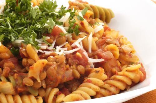 lentil pasta