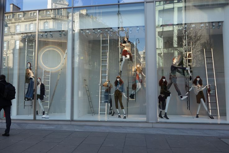 Exhibition Stand For Zara : Zara spring windows bondstreet window