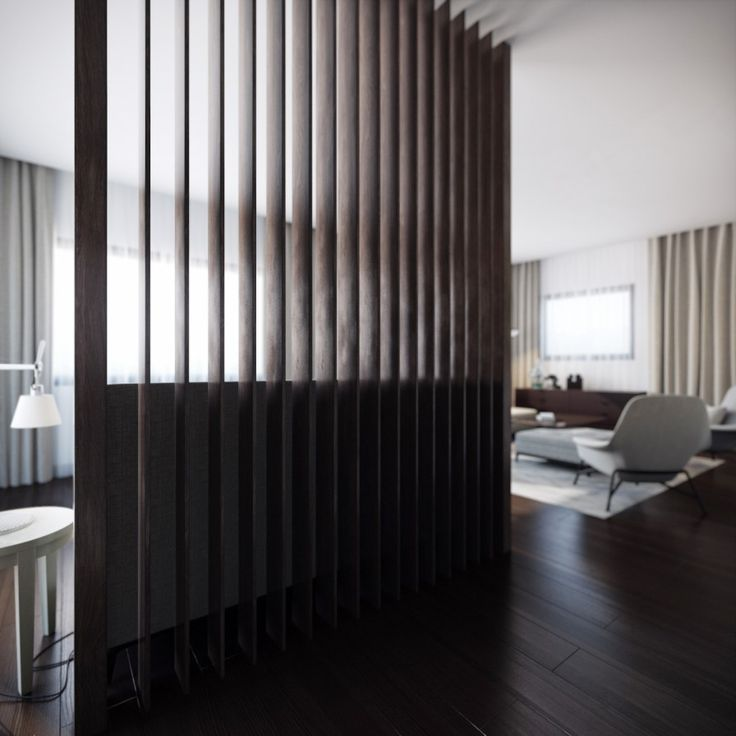 Architecture, Wood Slat Room Divider Wooden Floor Laminating: Modern  Interior Design Creation: The Beauty Of Modern Style Design